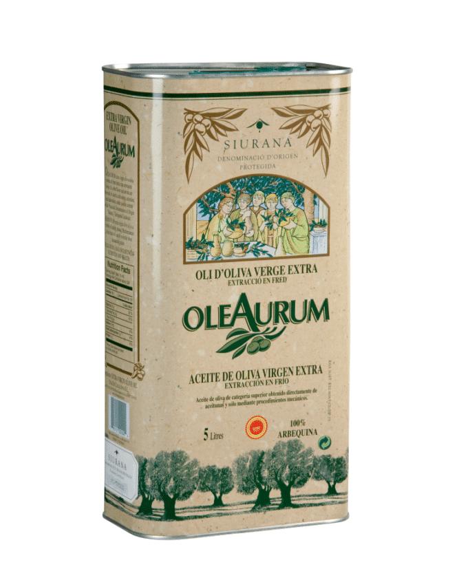 Ypač tyras alyvuogių aliejus OleAurum 5 l