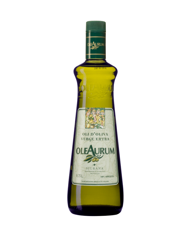 Ypač tyras alyvuogių aliejus OleAurum Arbequina 0.75l