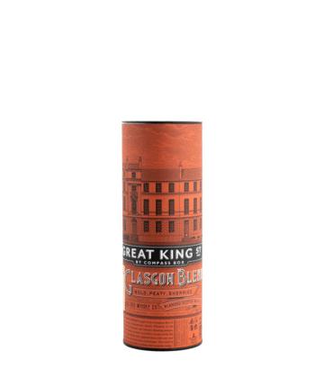 "Škotiškas viskis, Viskis ""Great King Glasgow Blend"", (43%) 0.5L"