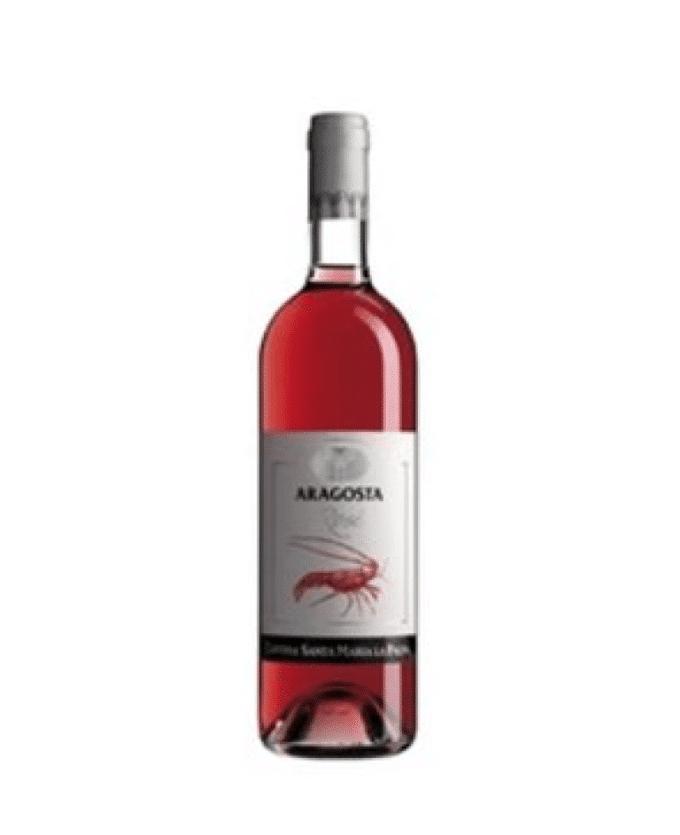 Rožinis vynas Aragosta Alghero DOC Rosato 0.75L