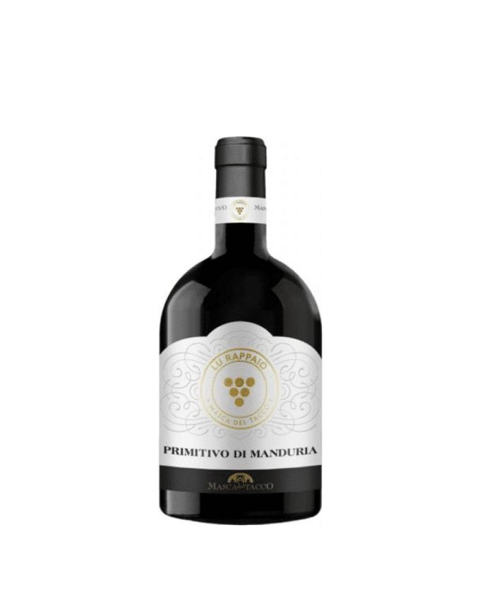 Raudonas, sausas vynas Primitivo DOP Manduria (14%) 0.75l, Italija