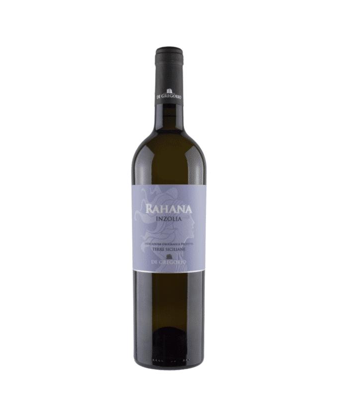 Baltas, sausas vynas Rahana Inzolia IGP Terre Siciliane (12,5%) 0.75l, Italija