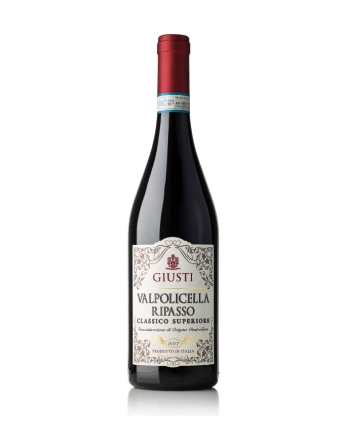Raudonas, sausas vynas Ripasso Superiore DOC Valpolicella 0.75l, Italija