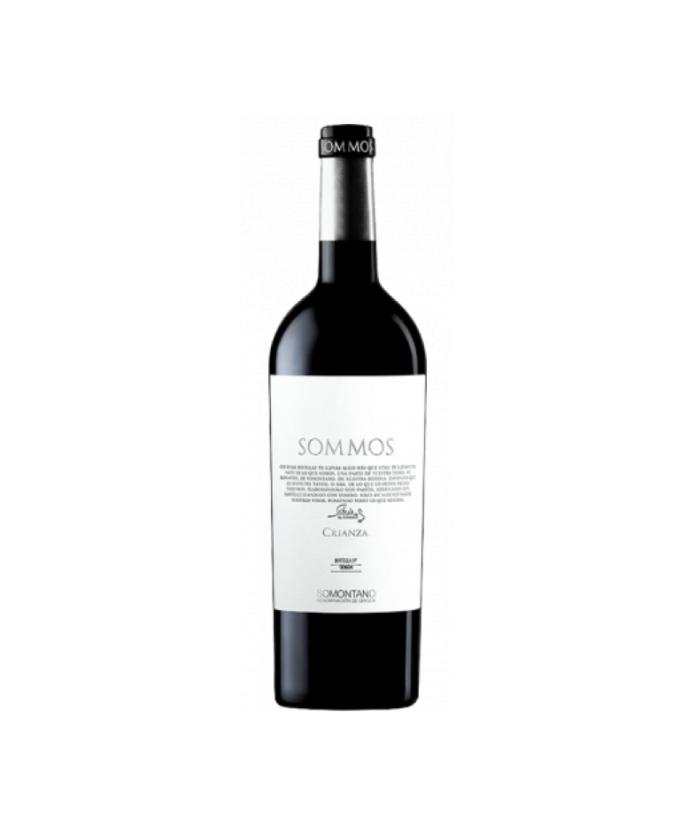 Raudonas, sausas vynas Sommos Crianza 2016 DO Somontano 1.5l, Ispanija